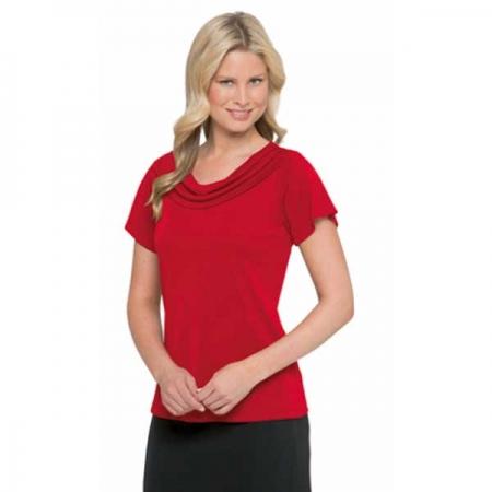 Eva Cowl Knit Short Sleeve - Style 2227