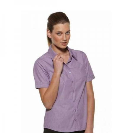 Model Stripe - Easy Fit SS Ladies Shirt - Style 6220S12