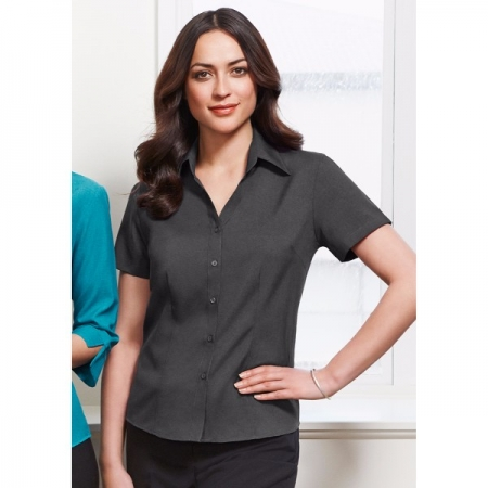 Oasis Ladies S/S Shirt - Style LB3601