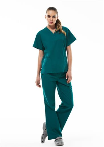 Ladies Scrubs_h10622_h10620_worn