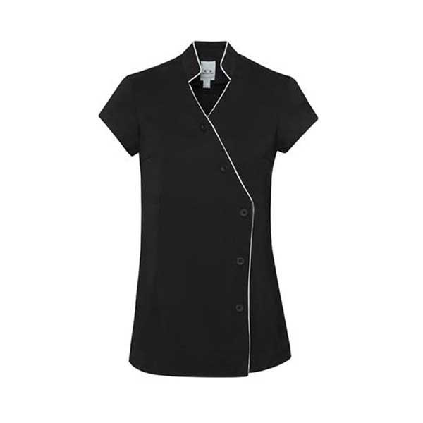 Zen crossover tunic style h134ls healthcare uniforms for Spa uniform nz