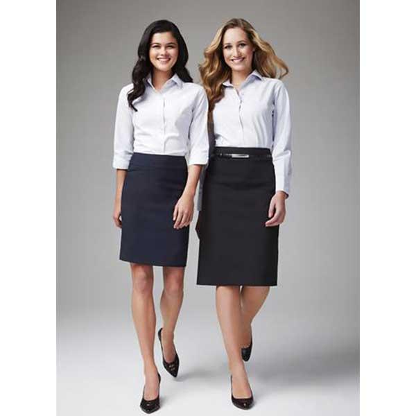 Classic Ladies Knee Length Skirt Style Bs128ls