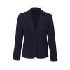 60111_navy short - mid length jacket