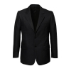 80111_black 2 button jacket