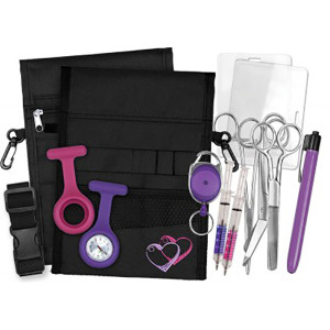 nursing-utility-kit-purple-_black-pouch_