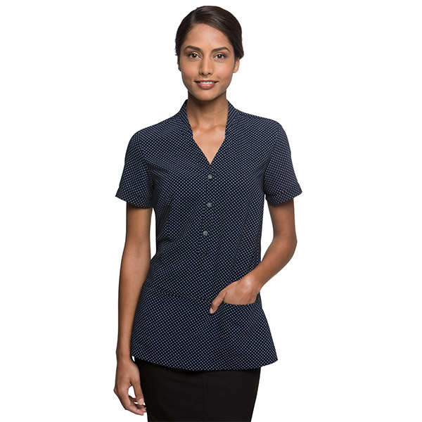 City Stretch Spot Tunic Style 2174 Healthcare Uniforms