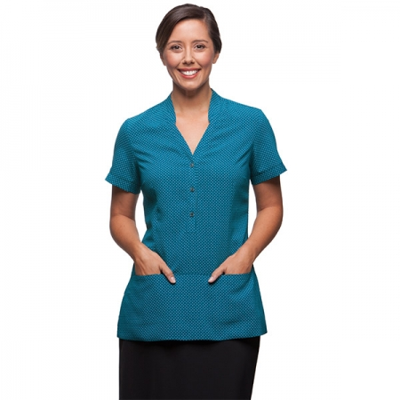 Ladies City Stretch Spot Tunic - STYLE 2174