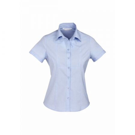 LADIES CHEVRON S/S SHIRT - S122LS