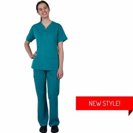 HCUA Silky Soft Scrubs Pant - HCUAP01- Jade Green