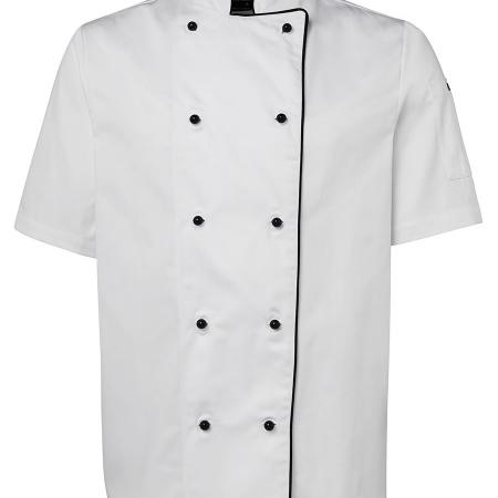 Contrast Unisex S/S Chefs Jacket - 5CJ2