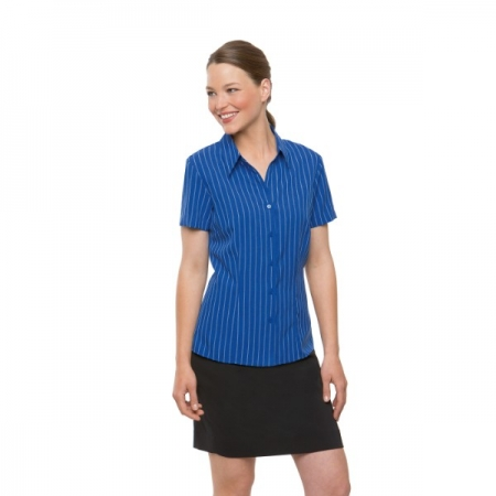LADIES EZYLIN STRIPE SHIRT - Style 2152 SS