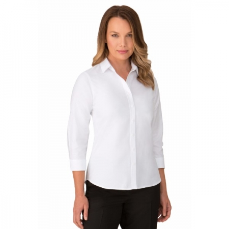 OXFORD Womens 3/4 Sleeve Shirt - Style 2255